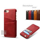 iphone8ケースカード収納背面iPhone12プロiPhone12iphone12ミニレザー調iPhone12プロマックスiPhoneSE2第2世代iphone7アイフォンカッコイイジャケットミニプロマックス全6色