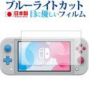 Nintendo Switch Lite ザシアン・ザマゼンタ 専用 ブルーライトカット 反射防止 液晶保護フィルム 指紋防止 気泡レス…