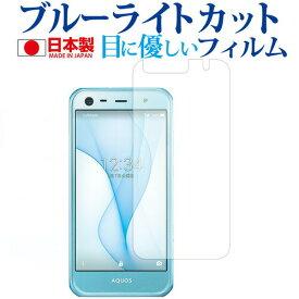 AQUOS Xx3 mini 603SH / Sharp専用 ブルーライトカット 日本製 反射防止 液晶保護フィルム 指紋防止 気泡レス加工 液晶フィルム メール便送料無料