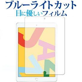 Apple iPad 10.2インチ 第7世代(2019) 専用 ブルーライトカット 日本製 反射防止 液晶保護フィルム 指紋防止 気泡レス加工 液晶フィルム メール便送料無料
