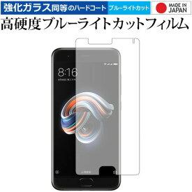 Xiaomi Mi Note 3/xiaomi 専用 強化 ガラスフィルム と 同等の 高硬度9H ブルーライトカット クリア光沢 液晶保護フィルム メール便送料無料