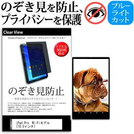 APPLE iPad Pro [10.5インチ] 機種用 のぞき見防止 覗き見防止 上下左右4方向 プライバシー 保護フィルム ブルーライトカット 反射防止 キズ防止 メール便送料無料