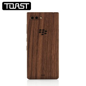 Blackberry KEY2用カバー TOAST Blackberry Cutout for Blackberry KEY2 トーストウッドカバー