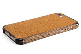 【正規販売代理店】 ELEMENTCASE エレメントケース Ronin II for iPhone 5 / 5s / SE アイフォン 5 / 5s / SE用 耐衝撃本革けケース Wood Bocote 耐衝撃 本革 4580395304748