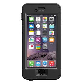 【正規販売代理店】 Lifeproof ライフプルーフ nuud ガラス保護フィルムセット for iPhone 6 アイフォン6用 耐衝撃ケース Black 耐衝撃 防水 防塵 ミルスペック IP68 指紋認証 補償サービス付