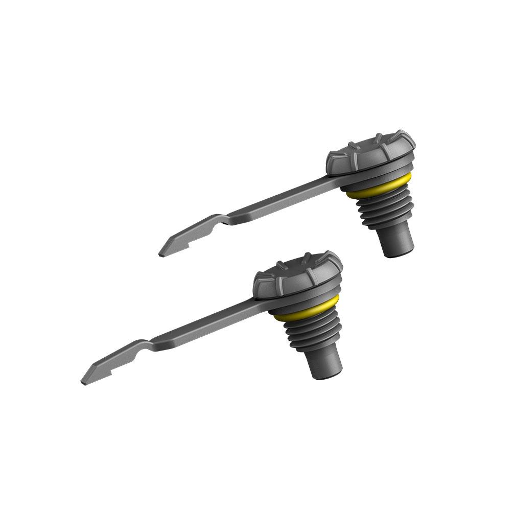 Lifeproof ライフプルーフ earphone cap イヤホンキャップ 2個セット for iPhone 5/5s/5c アイフォン5/5s/5c用 専用パーツ Gray