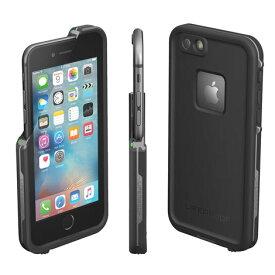 【正規販売代理店】 Lifeproof ライフプルーフ fre for iPhone 6 Plus/6s Plus アイフォン6プラス/6sプラス用 耐衝撃ケース Black 耐衝撃 防水 防塵 ミルスペック IP68 指紋認証 補償サービス付