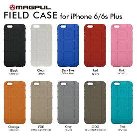 【正規販売代理店】 MAGPUL マグプル Field Case for iPhone 6 Plus/6s Plus 耐衝撃ケース 耐衝撃 軽量 ミリタリー 4580395