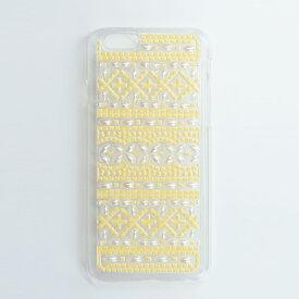 【DRESSTIC】【正規品】BASQUE PEARL YELLOW バスクパール イエロー iPhone6ケース ストーン 《 ドレスティック スマホ スマホケース アイフォン6 》