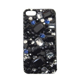 【DRESSTIC】【正規品】JEWEL DROP DECO SHINY BLUE デコシャイニーブルー iPhone6/6sケース ストーン 《 ドレスティック スマホ スマホケース アイフォン6 》