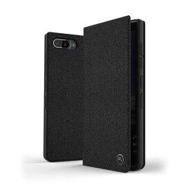 BlackBerry - Leather Flip case for BlackBerry KEY2 LE