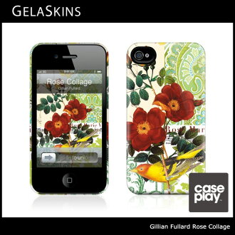 Gillian Fullard Rose Collage/로즈 콜라주 The HardCase for iPhone4/iPhone4S 케이스제라스킨즈