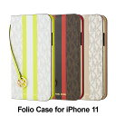 MICHAEL KORS - Folio Case for iPhone 11 手帳型 マイケルコース 正規販売店