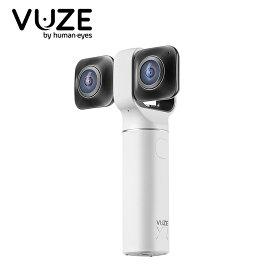 360°全天球カメラ 180°カメラ 高画質カメラ Vuze XR Dual VR Camera White