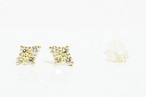 ダイヤセットダイヤモンドピアスイエローゴールド//0.20ct/K18YGDIA-SETPIERCE/K18WG/K18PG/pt900別作可【楽ギフ_包装】