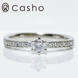"""【CASHO-BRAIDAL】ハードプラチナ ダイヤモンドリング 0.35UP""""グラデーション サイドダイヤモンド/エンゲージリング/ブライダル/婚約指輪/pt950 HARD PLATINUM DIAMOND RING 0.35UP GRADATION SIDE DIA"""