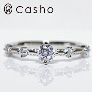 """【CASHO-BRIDAL】 ハードプラチナダイヤモンド リング 0.40up""""ネオクラッシック""""エンゲージリング/ブライダル/婚約指輪/pt950 HARD PLATINUM DIAMOND RING 0.40 NEO CLASSIC"""