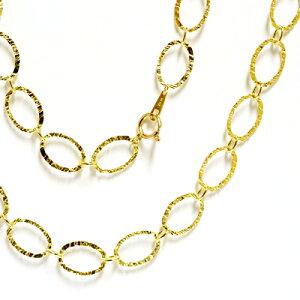 イタリアデザインチェーンアローネデザイン ワイドチェーン ブレスレット チョーカーネックレス ロングネックレス セミオーダー ホワイトゴールド ピンクゴールド イエローゴ