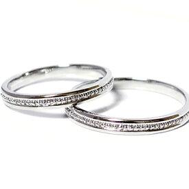 ハードプラチナペアリング 2本製作クラッシックセンターミルライン メンズ&レディースpt950 pair ringペアリング、マリッジリング結婚指輪