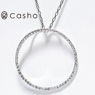 Casho rakuten global market k18wg line round diamond pendant k18wg line round diamond pendant necklace white gold line diamond pendant necklace rounds mozeypictures Images