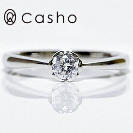 "【CASHO-BRIDAL】ハードプラチナ ダイヤモンドリング 0.20""フラワーセット""エンゲージリング/ブライダル/婚約指輪/pt950 HARD PLATINUM DIAMOND RING 0.20 FLOWER"