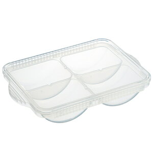 離乳食冷凍小分けトレー[80ml×4]//離乳食 小分け保存 保存トレー 食事 食品保存 保存容器//