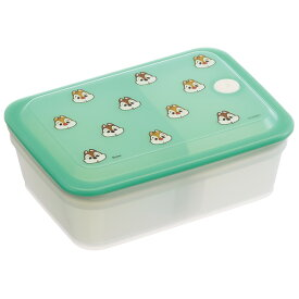 スケーター 抗菌パッキン一体型ふわっと保存容器[600ml]●チップ&デール ●//銀イオン Ag+ 食品 食材 おかず 作り置き 電子レンジ 食洗機 ふんわりフタ キャラクター チップとデール ディズニー Disney//