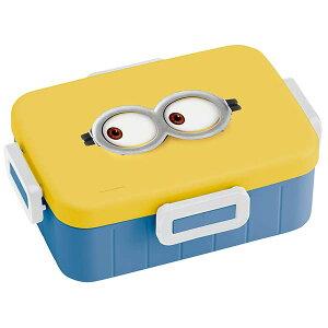 抗菌4点ロックランチボックス[650ml]●ミニオン フェイス●//銀イオン Ag+ ランチボックス 1段ランチ 1段弁当 キャラクター//