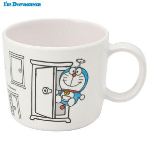 【P10倍 4日20:00〜11日01:59】●I'm Doraemon●メラミン製マグコップ//メラミン食器 カップ 片手コップ 取っ手付き こども食器 こども用 子供用食器 子ども食器 子供食器 食事 軽い 丈夫 I'm Dor