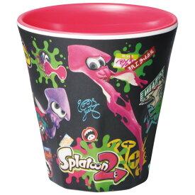 スケーター メラミンコップ[270ml]●スプラトゥーン2 B柄●//キャラクター メラミンカップ メラミンタンブラー コップ カップ 飲み物 食器 //