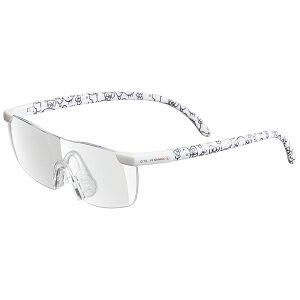 スケーター 拡大率1.6倍 大きくはっきりよく見える ルーペグラス●ハローキティ ホワイト●//メガネ型拡大鏡 虫眼鏡 めがね メガネ サンリオ Sanrio//