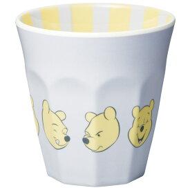 ●くまのプーさん パステル パープル(イーヨー)●メラミンタンブラー【270ml】//キャラクター メラミンカップ メラミンコップ コップ カップ 飲み物 食器 内側にもデザインあり ディズニー Disney POOH//