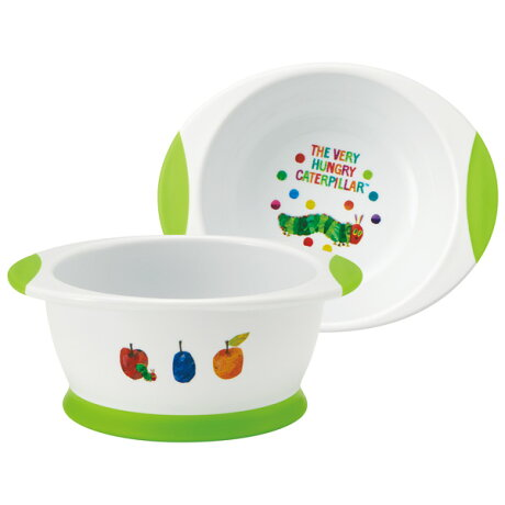 ●はらぺこあおむし●すくいやすいベビー茶碗//プラスチック食器こども食器子ども食器子供食器子ども用こども用ランチ食事ご飯コップ可愛いベビー食器//