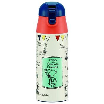 2,000円ポッキリ!【送料無料】保冷保温ステンレスマグボトル360mlロック付き水筒おしゃれデザインスヌーピームーミンミッキーマウスディズニージブリハローキティ持ち運びワンプッシュ子ども直飲みキャラクターサ