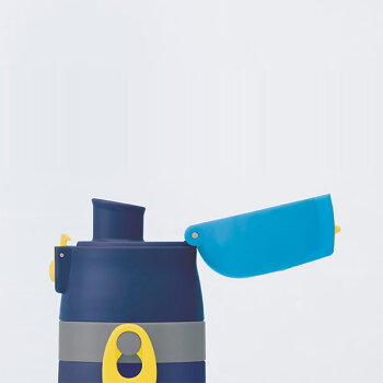 子供用軽量2WAY水筒ステンレスボトル肩紐付きコップつき直飲みキャラクター保冷保温470mlスケーター雑貨ポケットモンスターサン&ムーンポケモン19スケーターキャラクターランチグッズ