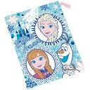コップ袋 コップ用巾着袋 アナと雪の女王19 アナ雪 スケーター キャラクター ランチグッズ