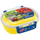 ●チャギントン19●食洗機対応ふわっとフタタイトランチボックス[小判型]//弁当箱 キッズ 子供用 お弁当 園児 幼稚園 …