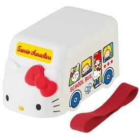 ●サンリオキャラクターズ70's●バス型ランチボックス//お弁当箱 ダイカット容器 小物入れ ケース インテリア オブジェ//