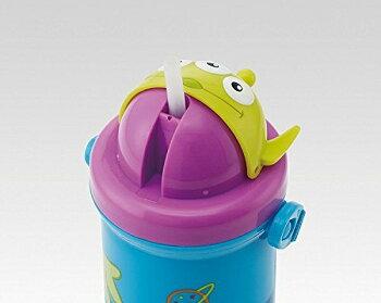 【送料無料】水筒キャラクターダイカットストローディズニーミッキーミニーミッキーマウスミニーマウストイストーリーリトルグリーンメンピンクぼんぼんりぼんサンリオスケーターギフトラッピングボトル子供