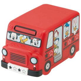 ●ミッキー&フレンズ●バス型ランチボックス//お弁当箱 ダイカット容器 小物入れ ケース インテリア オブジェ//