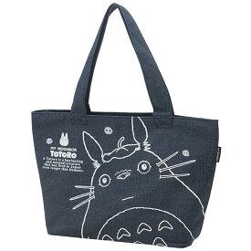 デニムトートランチバッグ トトロ トトロ ジブリ となりのトトロ かわいい トート 鞄 かばん バッグ バック デニム キャラクター スケーター