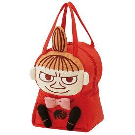 在庫限り☆スエット素材ダイカットバッグ リトルミィ ミィ ムーミン おしゃれ キャラクター型 バッグ チャック式 かわいい 手提げ トート 子供 キッズ スケーター ギフトラッピング プレゼント キャラクター 雑貨 子ども
