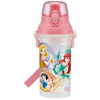 【送料無料】直飲みプラスチック水筒子供キャラクター480mlミッキーディズニープリンセスアナ雪カーズアナ雪トイストーリーアリエルベルラプンツェルソフィアスヌーピートトロすみっこぐらしぐでたまハローキティおしゃれミニオンショルダー
