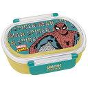食洗機対応 タイトランチBOX 小判 スパイダーマン マーベル MARVEL お弁当箱 弁当箱 お弁当 弁当 プレゼント スケー…