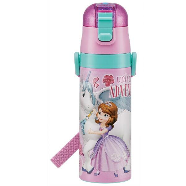 【送料無料】水筒 子供用 ボトル ステンレス 保冷 ベルト付き 紐付き 直飲み 軽量 軽い 470ml 子供用 ちいさなプリンセスソフィア18 ディズニー おしゃれ かわいい 可愛い Disney 雑貨