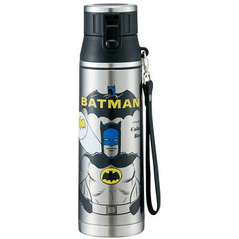 大容量保冷水筒800mlワンプッシュステンレスボトル直飲みタイプメンズおしゃれでかっこいいデザインがそろってますMARVEL(マーベル)BATMAN(バットマン)DCコミックシンプルプレミアムマスタートラディションマイン(タータンチェック)プレゼントにも!