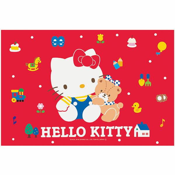 レジャーシート ハローキティ サンリオ キティ かわいい 赤 キティちゃん キティ 女子 女の子 子供 幼稚園 保育園 1人用 子供 お弁当シート シート ギフトラッピング