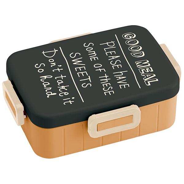 【送料無料】4点 ロック ランチボックス SWEETS ロゴ 手書き かわいい 英字 英字柄 文字 文字柄 レタリング 女性 男性 おしゃれ シンプル お弁当箱 弁当箱 お弁当 弁当 ランチケース レンジ対応