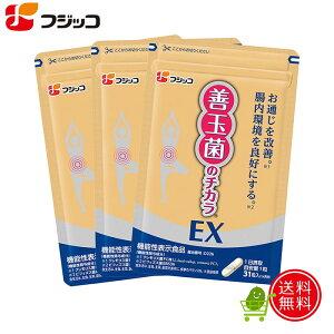フジッコ善玉菌のチカラEX3袋組<機能性表示食品>カスピ海ヨーグルト 乳酸菌 ビフィズス菌 サプリメント サプリ 腸内フローラ 腸活 【送料無料】