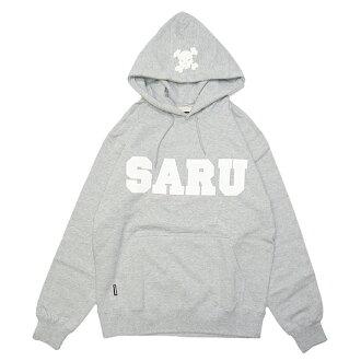 SARU HOODIE (원숭이 푸 디)/그레이 (이노우에 三太 TOKYOTRIBE 도쿄 트 라 이브) (후드 파 카) (SANTASTIC! WEAR 산타 스틱! 웨어)